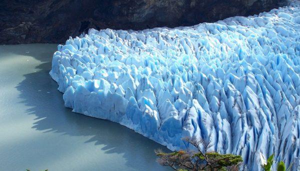 El panorama de los glaciares en Chile