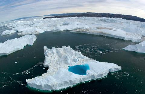 El llamado Hielo Marino del Ártico cae a mínimos históricos