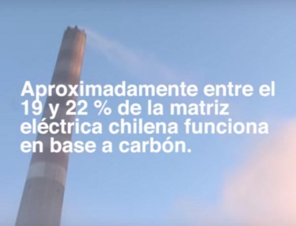 Nuevo video revela preocupantes cifras de matriz eléctrica carbonizada