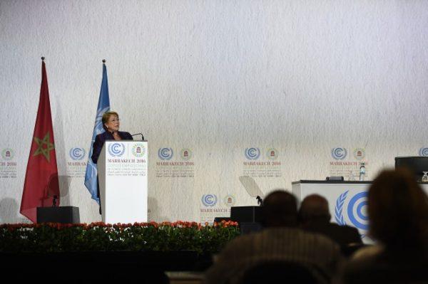 COP22: Chile presenta avances nacionales ante el cambio climático y actualización de inventario de gases
