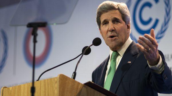 Kerry apela a la economía y seguridad para que EEUU no rompa los acuerdos climáticos