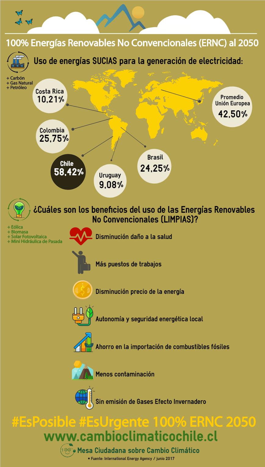 Infografía 2 Campaña 100%ERNC2050