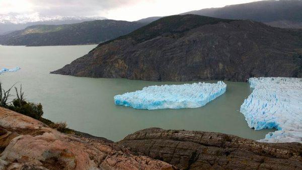 Fractura del Glaciar Grey enciende las alertas en Torres del Paine