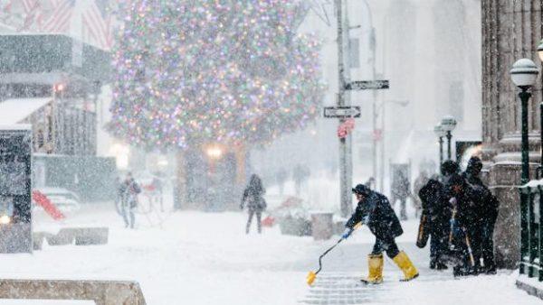 El noreste de EE.UU registra récord de temperaturas frías