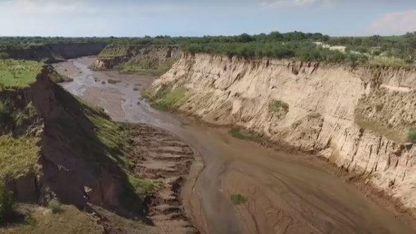 Aparecen nuevos ríos en Argentina por la deforestación y el cambio climático