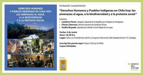 """Lanzamiento libro: """"Agua, biodiversidad y protesta social"""""""